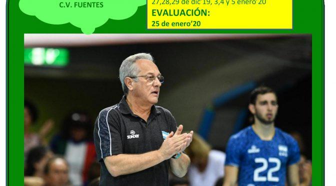 Convocado cursopresencial de Nivel I de Voleibol en Fuentes de Andalucía (info e inscripción)