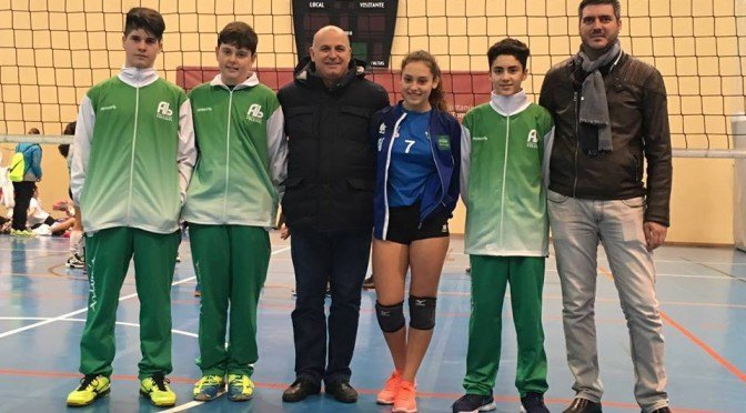 Cuatro jugadores fontaniegos en el campeonato andaluz de voleibol