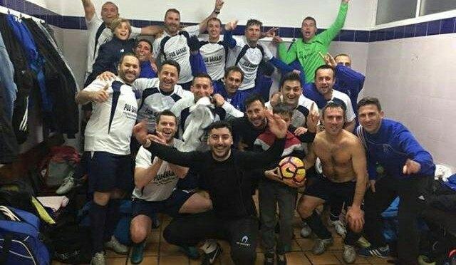 El equipo del C.D. Fuentes Veteranos campeón de Liga Comarcal