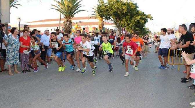 (incluye galería imágenes) Más de 100 participantes en una XXVIº Carrera Popular de la Milla Urbana de la Feria 2018 que estrena recorrido