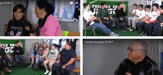 Nuevo programa de 'Fuentes en Juego' (7ºx2018)