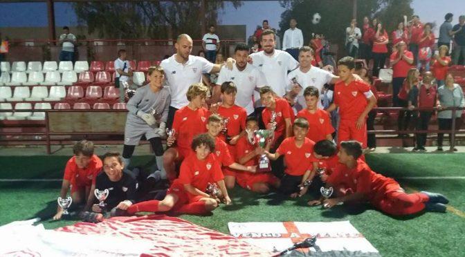 El fontaniego,Iker Villar, se proclama campeónde Liga Alevín (2° Andaluza) con el Sevilla F.C.
