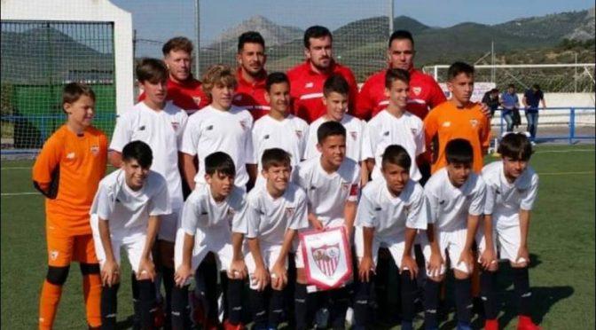 Iker Villar, máximo goleador del campeonato de Andalucía de clubes con el Sevilla F.C, con 10 goles, quedando subcampeón del torneo.p