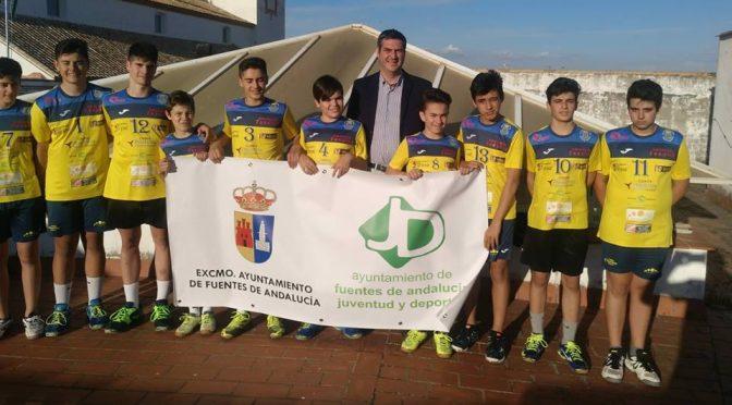 El C.V. Voleibol agradece al alcalde el apoyo mostrado para la participación de los torneos nacionales