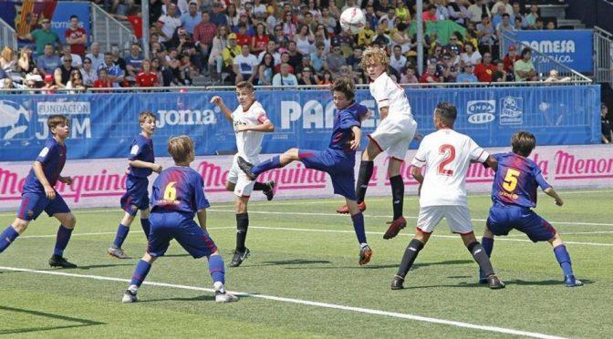 Iker firma un gran torneo de LaLigaPromises aun cayendo en 1/4 con el Sevilla ante el F.C. Barcelona