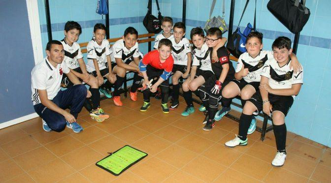 El Fuentes F.S. (benjamín) subcampeón de la Copa Sevilla de Fútbol Sala disputada en la localidad, con un máximo goleador entre sus filas