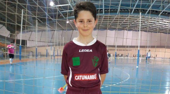 Nuestro deportista Álvaro Urbina disputa este fin de semana el campeonato de Andalucía de fútbol sala con la selección sevillana