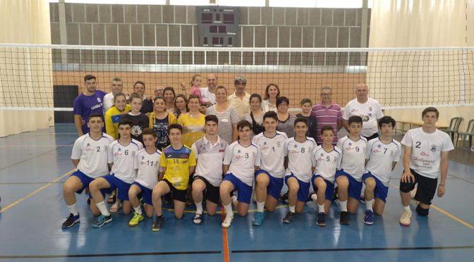 El cadete masculino del C.V. Fuentes logra un 9º de Andalucía