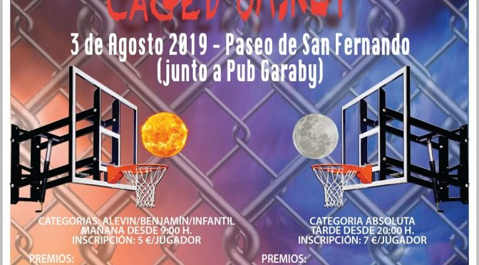 Torneo 3×3 de baloncesto, próximo 03 de agosto 2019 ¡Apúntate!