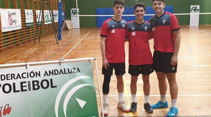 Tres fontaniegos, German, Luis y Alberto, medalla de bronce en el Campeonato de Andalucía de Selecciones Provinciales