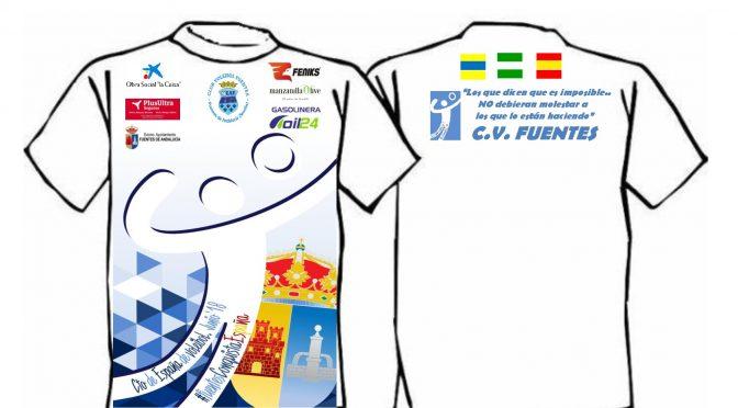 El C.V. Fuentes estrenará camisetas en el próximo campeonato de España de voleibol