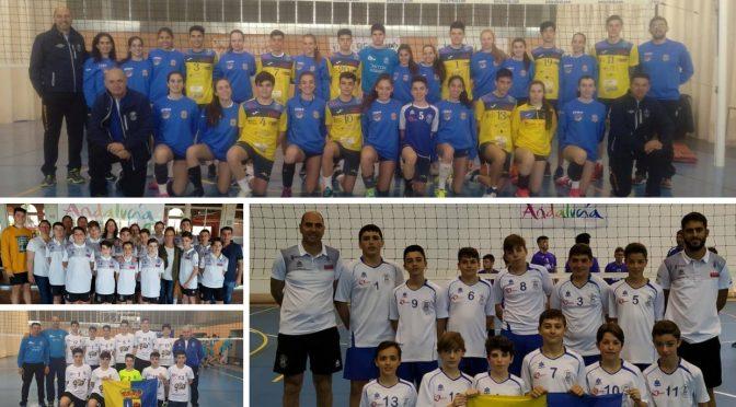 El C.V. Fuentes participa en el campeonato de Andalucía 2019 en las categorías juvenil e infantil masculino y juvenil femenino