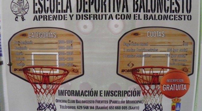 Escuela deportiva de Baloncesto: «aprende y disfruta con el baloncesto»