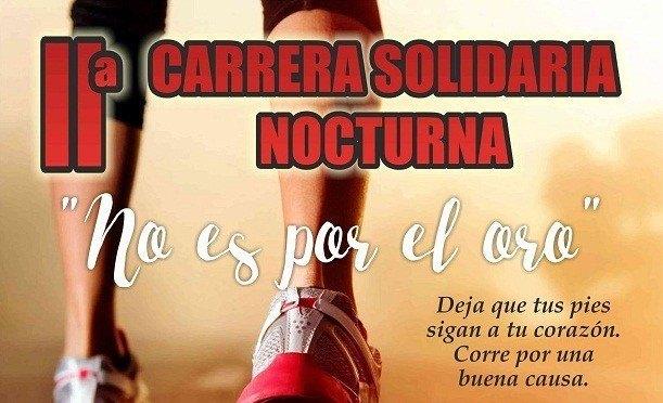 IIª Carrera Solidaria Nocturna 'No es por el Oro' (bases e inscripción)
