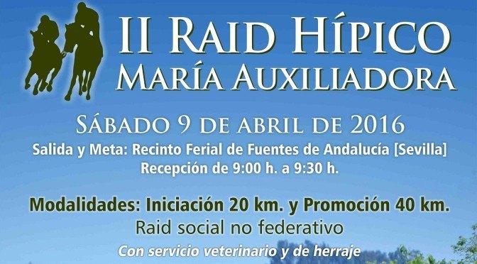 IIº Raid Hípico María Auxiliadora, próximo (09/04/16)