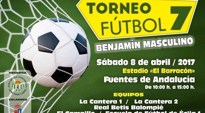 Torneo Fútbol 7 benjamín masculino, próximo (08/04/17)