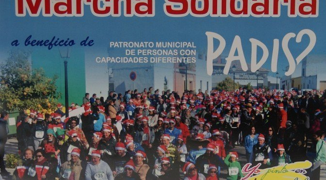 IIª Carrera Marcha Solidaria a beneficio de PADIS, próximo (03/01/16), ¡anímate a correr!