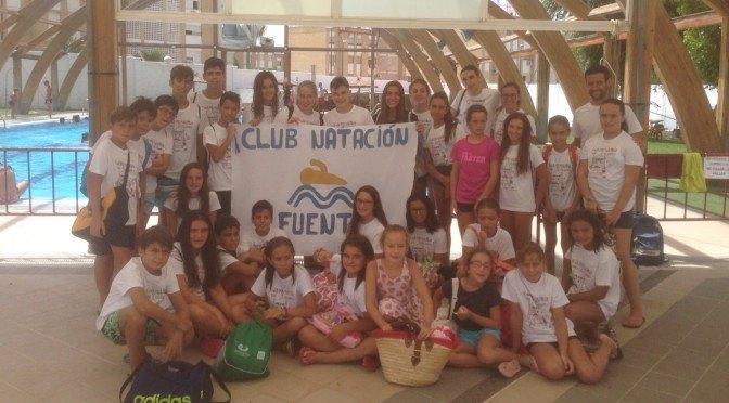 33 nadadores representaron a Fuentes de Andalucía en Osuna logrando clasificaciones para la final
