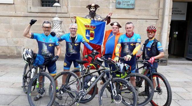 Nuestros 'Bicigrinos' llegan a Santiago