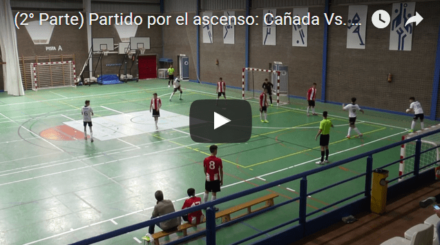 Último partido de Liga Fuentes F.S. juvenil, ascenso a División de Honor (vídeo)