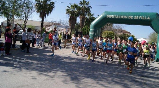Más de 140 participantes disputaron la primera edición de la 'Carrera por la Cultura'