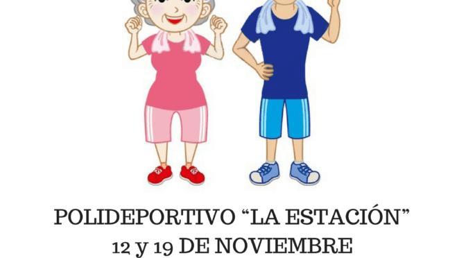 """Iº Juegos de Otoño para personas mayores: """"El deporte no tiene edad"""". ¡Apúntate!"""