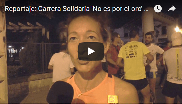 Reportaje: Carrera Solidaria 'No es por el oro' de Cruz Roja 2017