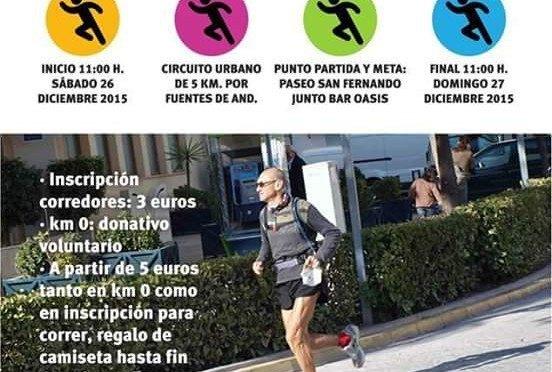 Reto solidario contra el cáncer: '24 horas running'