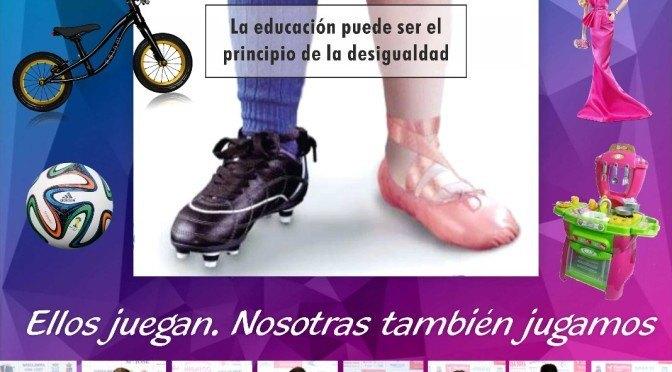Campaña deporte en igualdad: «Ellos juegan. Nosotras también jugamos»