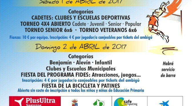 XXXVº Torneo de Voleibol 'Fuentes de Andalucía'