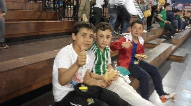 Mañana de baloncesto en el Estadio Municipal de San Pablo