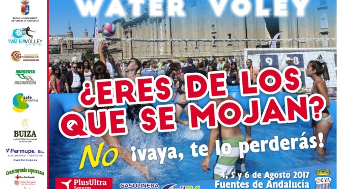 Torneo de Water Voley: 4, 5 y 6 de agosto