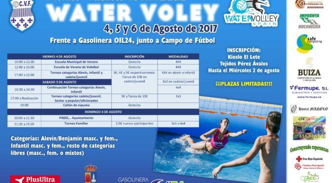 Iº Torneo de Water Voley en Fuentes de Andalucía (info e inscripción)
