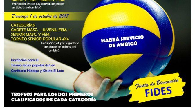 IIº 'Torneo Pretemporada' de Voleibol 'Fuentes de Andalucía'