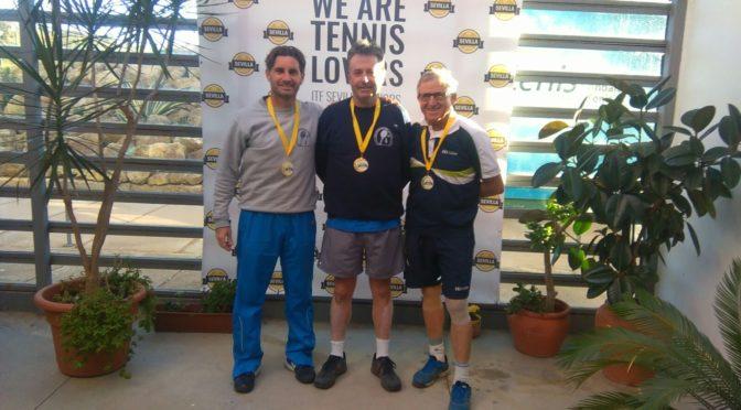 Gran actuación de los tenistas fontaniegos Pepe Barrera, Sebastián Hidalgo y Ernesto Novales, en un torneo internacional