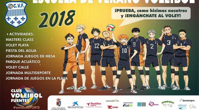 Escuela de Verano 2018 de Voleibol del C.V. Fuentes: último día para inscribirse el próximo (25/06)