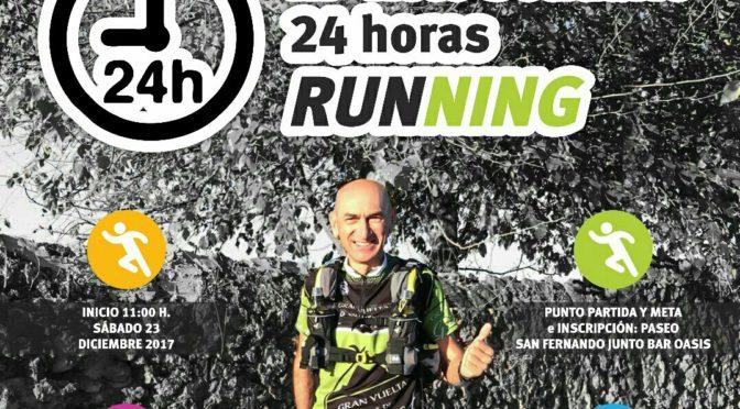 Ezequiel Ruano volverá a realizar su reto solidario '24 horas Running' en beneficio de la Asociación Contra el Cáncer