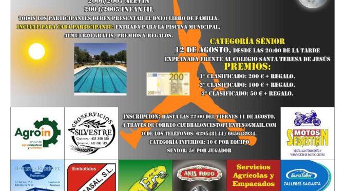 Maratón 3×3 de baloncesto en Fuentes de Andalucía. Grandes premios, y regalos para todos ¡Apúntate!
