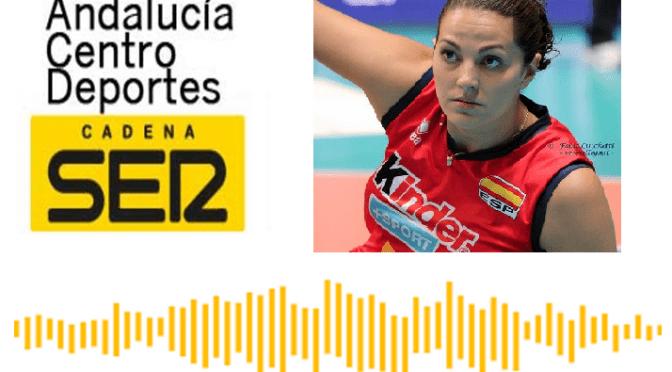 (audio) Marisa Fernández entrevistada en SER Andalucía centro en el Día de la Mujer