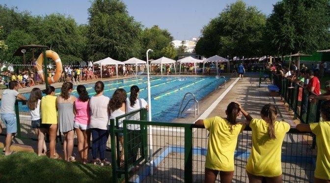 Fuentes de Andalucía vuelve a ser sede de la natación de competición 5 años después