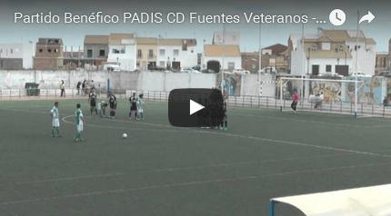 (vídeo) C.D. Fuentes Veteranos (3-0) R. Betis Veteranos (IIIº Partido Benéfico PADIS)