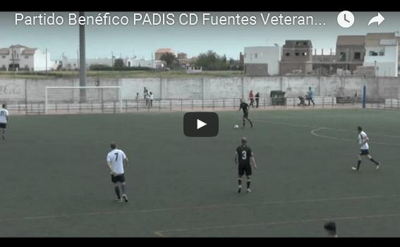 (vídeo) CD Fuentes Veteranos (1-3) Sevilla FC Veteranos (IIIº Partido Benéfico PADIS)