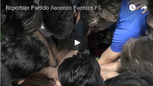 (vídeo) Reportaje último partido de Liga del Fuentes F.S. cadetes por el título, el ascenso y el campeonato de Andalucía