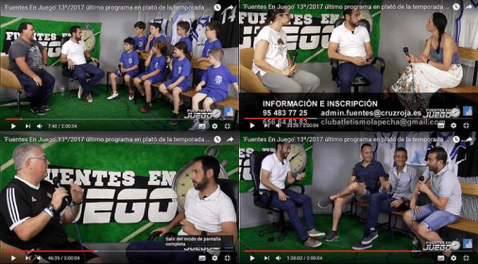 'Fuentes En Juego' 13º/2017 último programa en plató de la temporada 16/17
