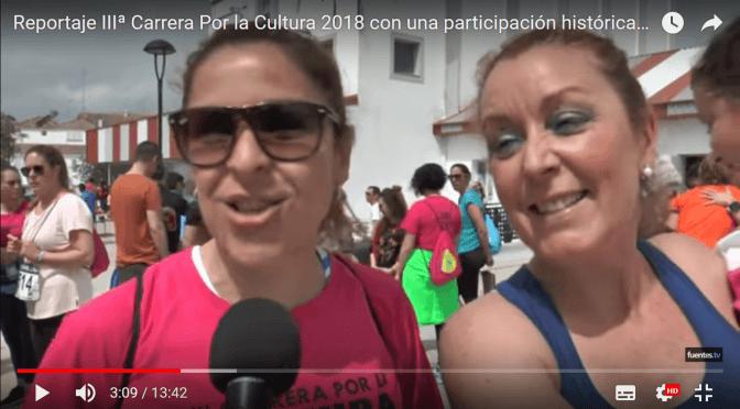 (VÍDEO) Reportaje IIIª Carrera Por la Cultura 2018 con una participación histórica femenina