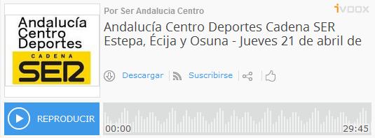 (Audio) Melchor del veteranos C.D. Fuentes entrevistado en la Cadena Ser para promocionar el #PartidoPADIS