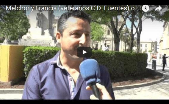(Vídeo) Melchor y Francis (veteranos C.D. Fuentes) os animan a asistir al IIIº partido a beneficio de PADIS