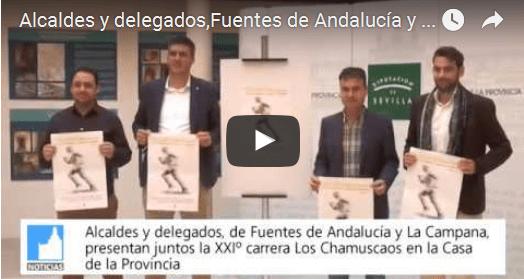 (vídeo) Presentación de la XXIº carrera 'Los Chamuscaos' en la Casa de la Provincia