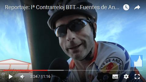 (vídeo) Reportaje: Iª Contrarreloj BTT – Fuentes de Andalucía 2016