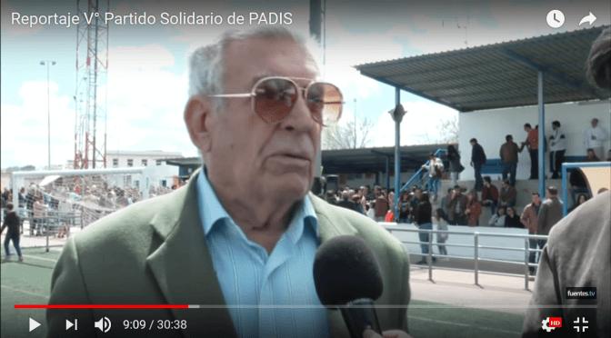 (VÍDEO) Reportaje Vº Partido benéfico PADIS